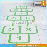 Full color printing floor sticker,die cut floor decal vinyl