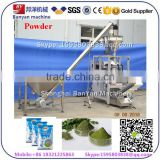 Fully Automatic green /black / instant /lemon tea Powder Pouch Packing filling Machine