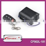 positive and negative trunk release keyless entry system with led indicator power window output