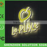 Outdoor hanging lighted bar open neon sign /led sign boards price