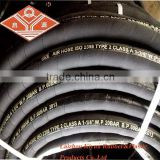 High Pressure Lay Flat Rubber Drill Industrial Air Hose hdpe air hose air rubber hose reel