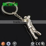 3D Metal Golf Player For Golf Key Chain
