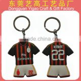 Custom PVC simple key chain/Factory sale cheap key chain