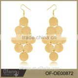 Earrings Gold Plated African Jewelry Wholesale Export And Import Jewelry From China                                                                         Quality Choice