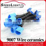 Best 9007 Wire Ceramic Lamp Socket 12V 35W Hid Xenon Wire Harness