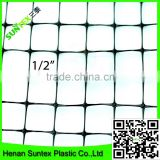 black color hdpe UV blocking bird protection mesh,garden fence netting,plastic long durable anti bird netting