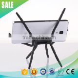 New universal black spider funny cell phone holder for desk