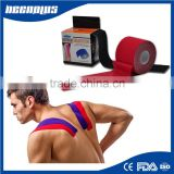 alibaba china Athletes Muscle Pain Relief printed Precut low price Kinesiology Tape