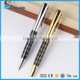 Golden and black color promotional heavy metal ball pens with logo heavy metal pens for promotional items