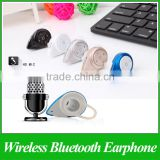Mini A9 Bluetooth 4.0 Headset Small Snail Wireless Stereo Music Headphone Earphone For Microphone