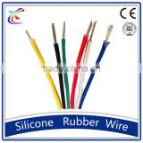 high quality fiberglass braided silicone rubber insulation house wiring electrical cable