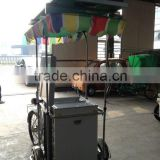 Manufacture design Mobile Ice Cream Cart With Battery Powered Freezer 12v Fridge ice cream bike                                                                         Quality Choice