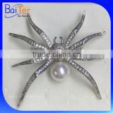 China Wholesale Custom Made Design Fashion Pearl Men'S Brooch