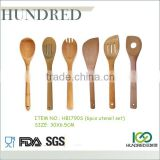 Cheap modern design reusable beautiful bamboo tea spoon set                                                                         Quality Choice