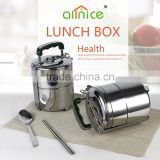 good quality colorful stainless steel protable keep food hot thermal tiffin carrier/food container