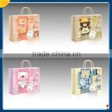Hot new products for 2015 custom New design BABY gift bag paper shopping bag with handles