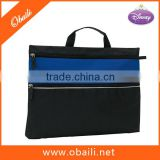 600D Polyester Promotional Document Bag/Carrying File Bag/Briefcase