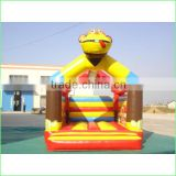 customized inflatable monkey shape jumping playground/indoor inflatable playground equipment