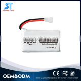752035 3.7v 380mah ultra thin small battery for HubsonX4 H107d Udi SYMA X3 Walkera super-cp mini-cp MJX F47                                                                         Quality Choice