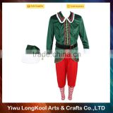 China factory direct sale cheap christmas cosplay costume adult elf costume