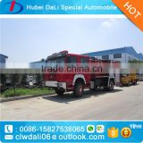Sinotruk howo fire trucks 8000L fire engine truck water and foam tank howo fire fighting truck                                                                                                         Supplier's Choice