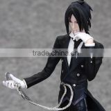 Anime Black Butler Sebastian Michaelis PVC Action Figure Toy/Customized Collectible Model action figure toys China Manufacturers