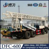 Deep hole driller, water wells and buliding foundation hole drilling equipment