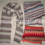 2014 newest style jacquard knitted scarf machine