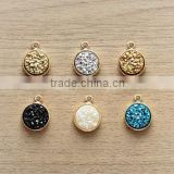 Wholesale Druzy Gemstone Connector
