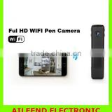 with Night Vision Wifi Mini Spy Wifi Pen Camera , 1080P Full HD WIFI Camera Pen