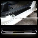 auto accessories led door sill scuff plate led car door sill plate light for mercedes ben.z w204 2008-2013 moving door sill
