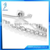 Fashion Jewelry Diamond Bridal 925 Silver Tennis Bracelet