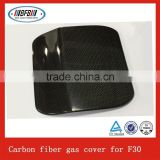 Carbon fiber fuel tank cover auto gas cover for F30 auto accessories