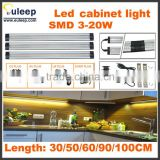 300mm,4w,DC 12V Aluminum LED Cabinet Light With Motion Sensor Switch Use for Kitchen,LED driver with SAA approved