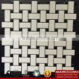 IMARK China Manufacturing Mixed Black And White Color Ceramic Mosaic Tile For Wall/Floor Decoration