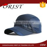 High Quality Running Cap /Dry Fit Polyester Running Hat Cap/Running Sports Hat Fitted Cap