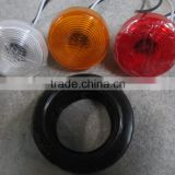 truck or trailer2inch round lamps with front and rear outline maker ,front&rear position and side signal lamps function(RK09001)