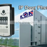SIP video door phone Analog/IP POE Phone Flush/wall mounting KNZD-42 Emergency door phone
