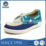 Guangzhou Factory Mixcolor Slip-on Suede Canvas Boat Shoes for Kids
