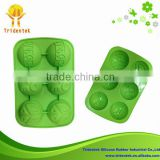 China Supplier 2015 Kitchen Ware Cake Decorating Festival Lego Minifigures Silicone Cake Mold