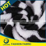 Best selling for blanket Attractive printed tracksuit fleece fabric