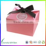 2016 dongguan manufacture professional custom paper Bakery box packaging