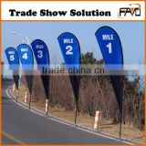 China Factory Cheap Digital Printed 5M Flag Banner Stand