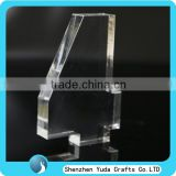 Competitive price elegant acrylic display block thick number block