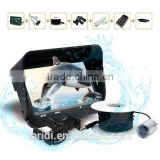 Visible 720P Real-time Underwater Camera 4.3 inch LCD Monitor 30M Cable IR Night Vision Fish Video flower horn fish