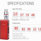 Stock Offered!!!VAPE TO YOUR HEART'S CONTENT--SMOK NANO ONE WITH R-STEAM MINI 80W BOX MOD AND NANO TFV4 TANK 2ml CAPACITY.