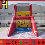 Hot hoops basketball game, inflatable basketball shoot game target