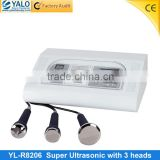 YL-R8206 CE Approved 3MHZ ultrasonic beauty treatments for facial cleansing