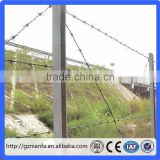 Kenya Depot Used Wholesale Price Hot Dipped Galvanized Barbed Wire Fencing Wire(Guangzhou Factory)