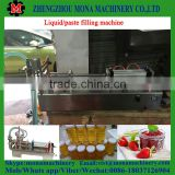 Fruit Salad Paste Packing Machine olive oil filling machine(With pulp)